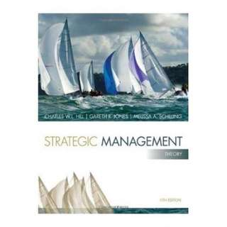 Strategic Management E-Book Available
