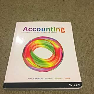 Accounting: Business Reporting For Decision Making 5th Edition