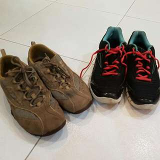 Reebox And Geox Shoe Give Away. Uk8 Size