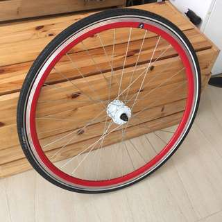 Fixie Front Wheel With Tyres