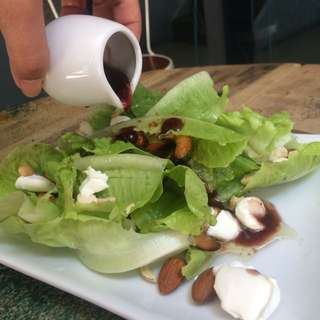 Blueberries And Nuts Salad