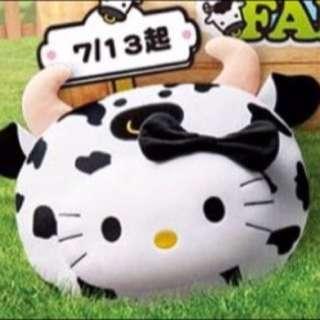 Kitty2016麥當勞限量抱枕💕活力乳牛