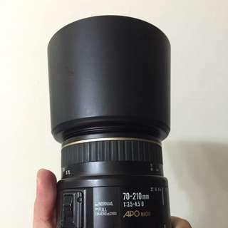 Sigma70-210mm APO marco鏡頭