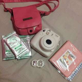 Instax Mini 8 with Accessories and Films