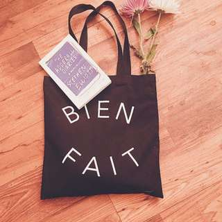正品 Madewell tote bag 美式極簡 印字logo 質感帆布 百搭實用 托特包