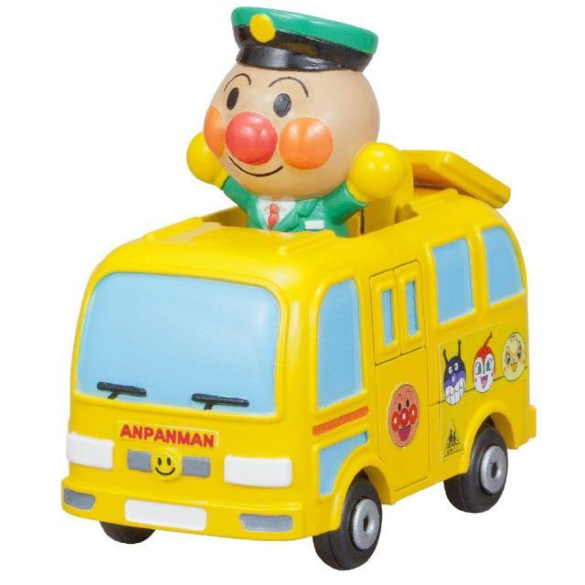 麵包超人 Anpanman 玩具車 模型車 人偶公仔車 車長 幼兒園車 幼稚園車