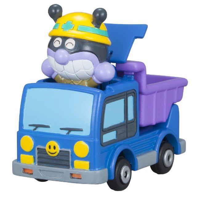 麵包超人 Anpanman 細菌人 玩具車 模型車 人偶公仔車 砂石車