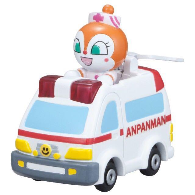 麵包超人 Anpanman 小細菌 紅精靈 救護車 🚑 玩具車 模型車 人偶公仔車