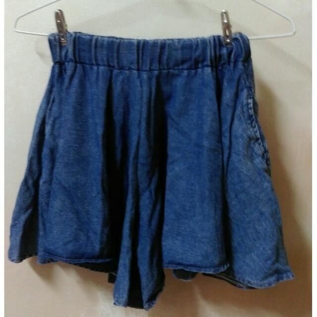 降💦牛仔復古褲裙#三百元牛仔