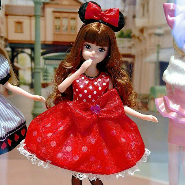 日本迪士尼 7/22開賣到角色變裝芭比娃娃