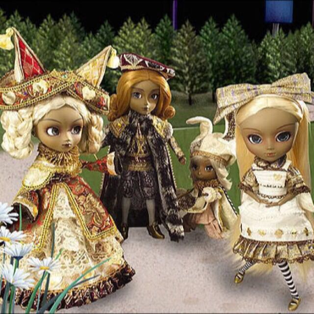 Another Alice Set (Extremely rare Pullip Set)