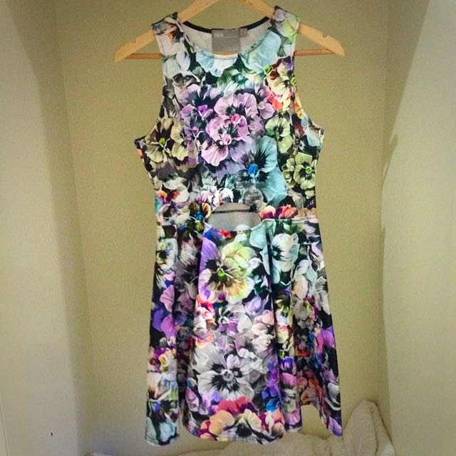ASOS Size 12 Floral Dress