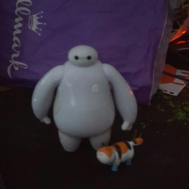 Baymax And Cat