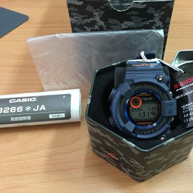 CASIO G-SHOCK 日本製太陽能蛙人錶 GF-8250CM 全新收藏品