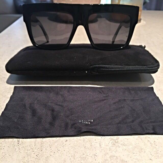 Celine zz Top Sunglasses Black