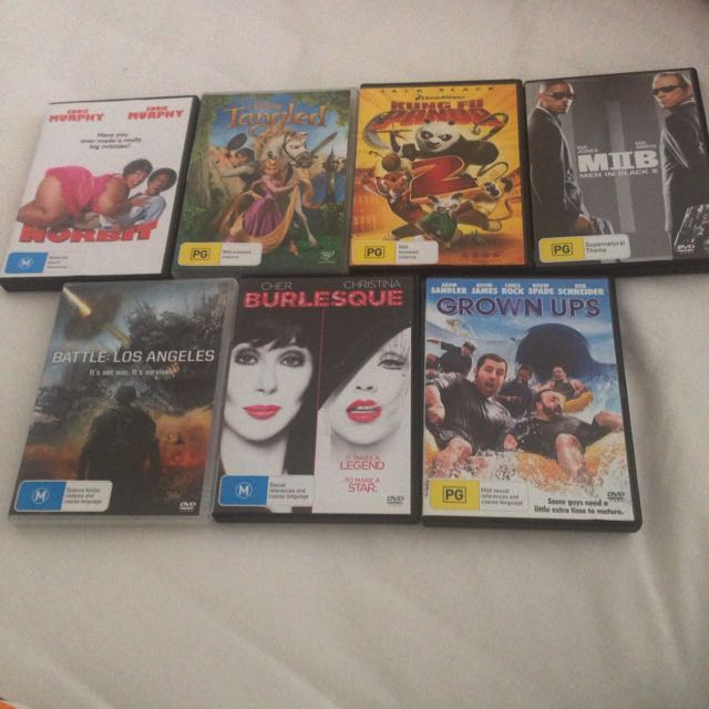 7 DVD For $15