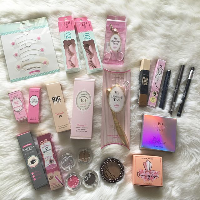 ETUDE MAKEUP ALL THESE!