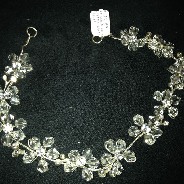 Genuine Crystal Tiara With Tag
