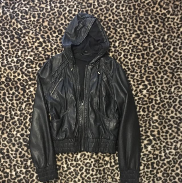 Glassons Faux Leather Jacket