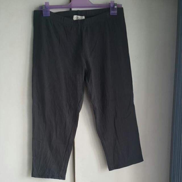 F21 Gray Leggings