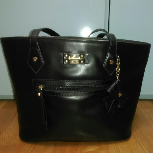 Hallmark誠品專櫃購 黑色大包包