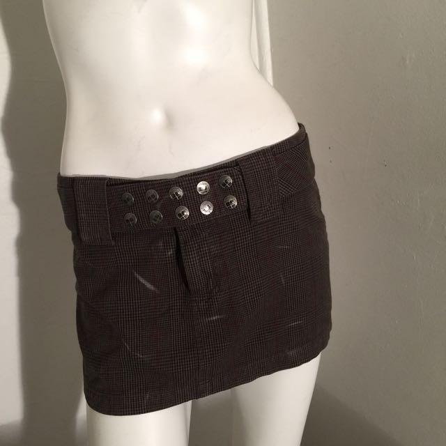 Insight Mini Skirt Size 8