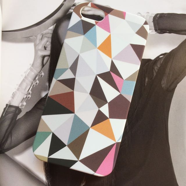 Iphone 5s Abstract Triangle Hard Case
