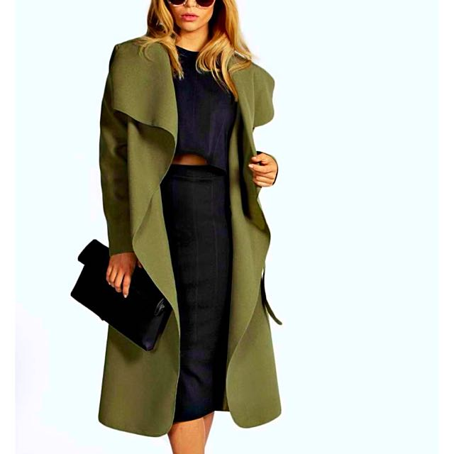 💥PRICE DROP💥 Khaki Long Coat