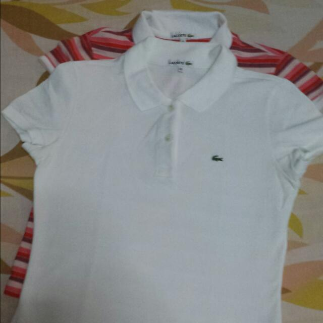 LACOSTE - Polo Tee For Ladies