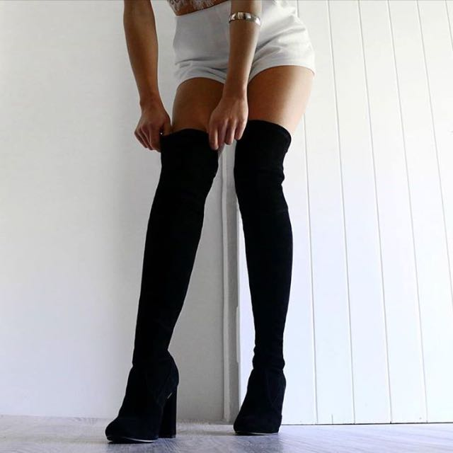 Looking For Suede Thigh High