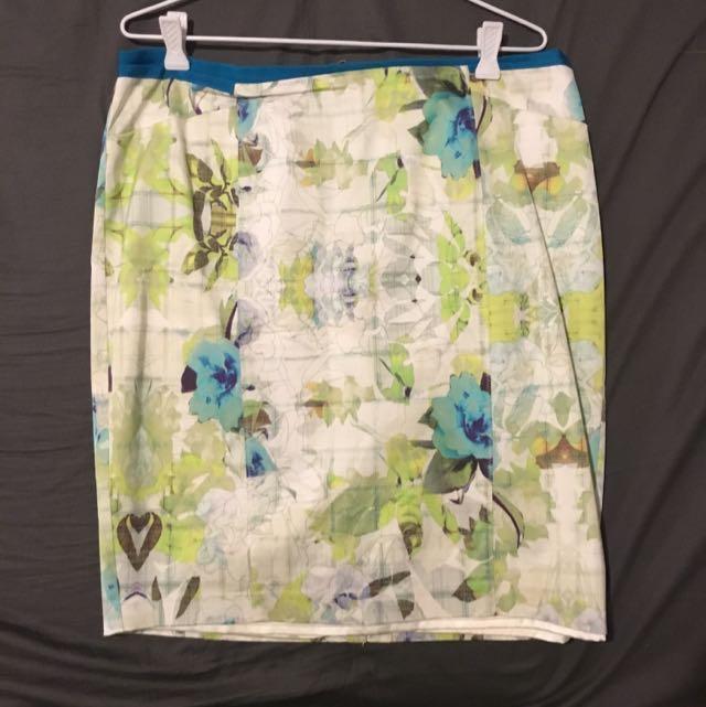 Portmans Floral Pencil Skirt