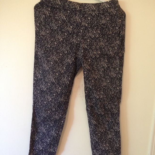 Printed pants (H&M)