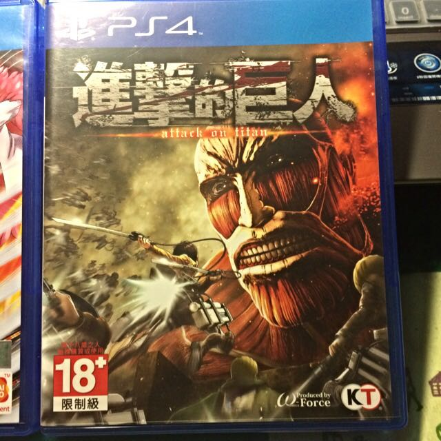 PS4 進擊的巨人 中文版