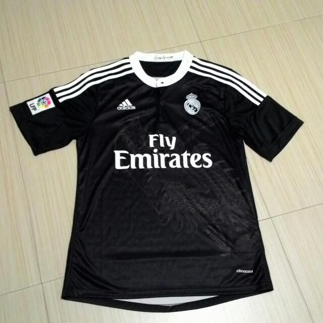 purchase cheap 8bb56 21415 Real Madrid Y3 14/15 Third Kit Original Grade Size S, Sports ...