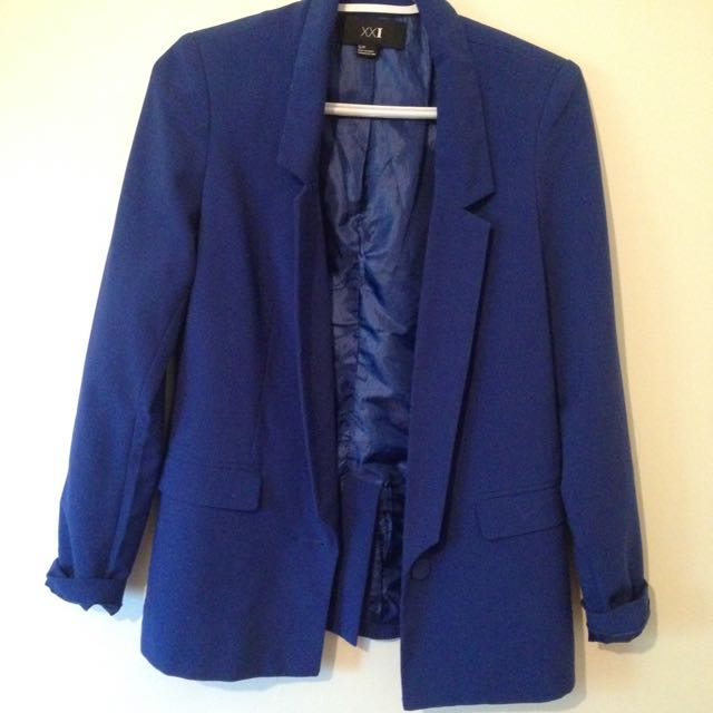 Royal blue Forever 21 Blazer