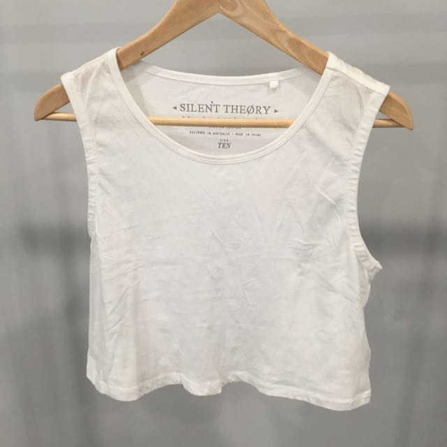 Silent Theory Cropped Tank