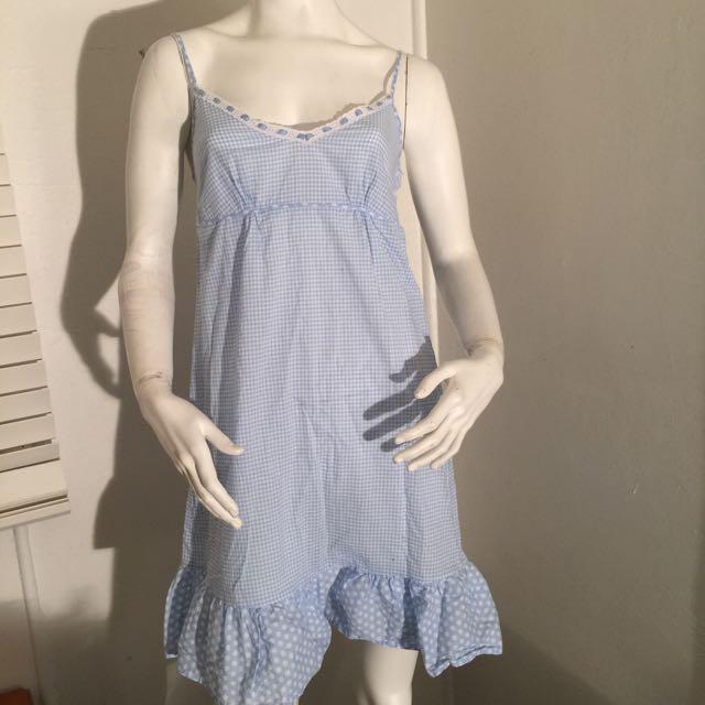 Soho Blue Nighty Dress Size M