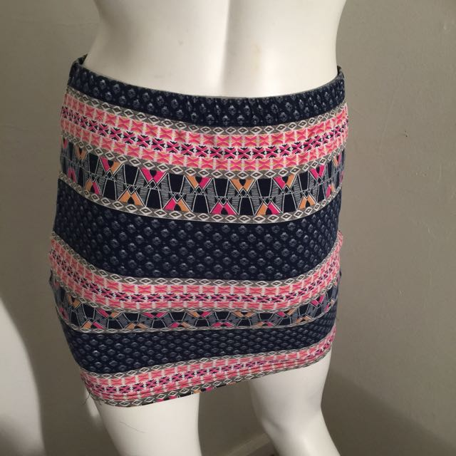 Supre Pink Mini Skirt Size S