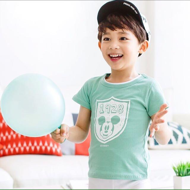 【夏季出清】正韓正版迪士尼小米奇短袖T (現貨款)