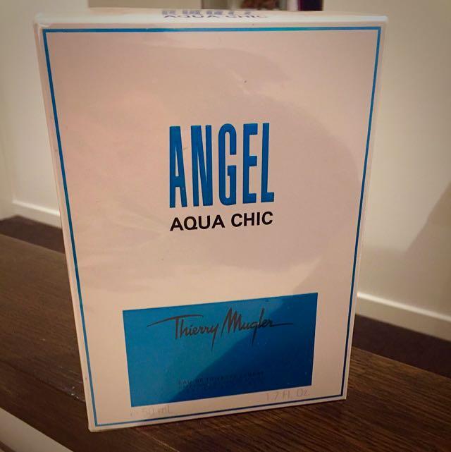 Thierry Mugler Angel Aqua Chic Eau De Toilette 50mLs