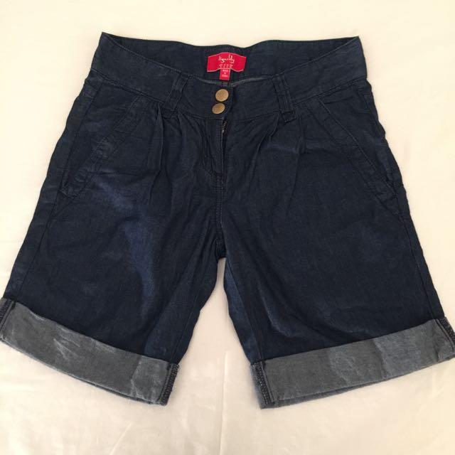 Tigerlily Cotton Denim Shorts Size 8