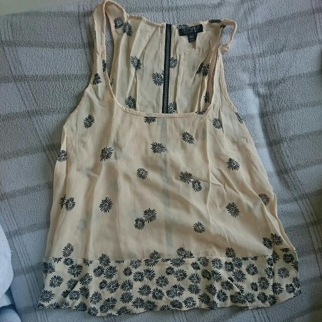 Topshop Cute Sleeveless Top