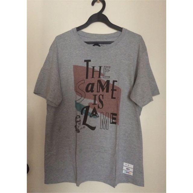 """Uniqlo """"The Same Is Lame"""" Tshirt"""