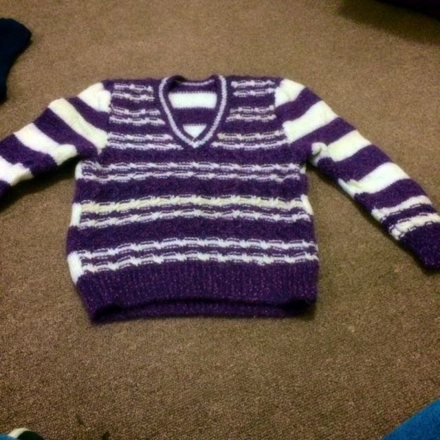 Very warm Hand Knitted Sweater
