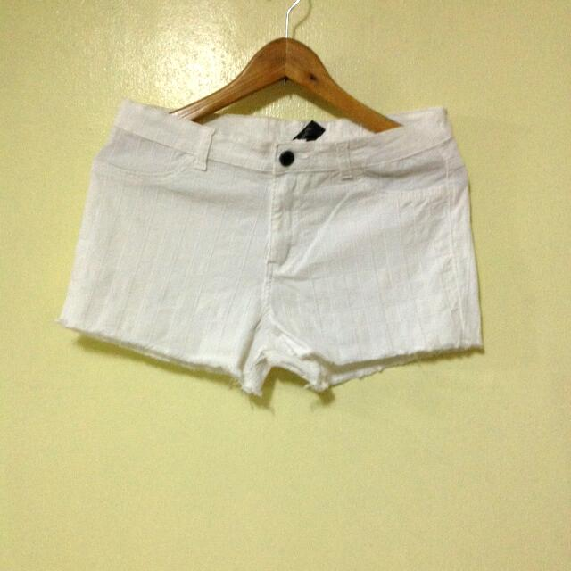 White Shorts from Folded&Hung