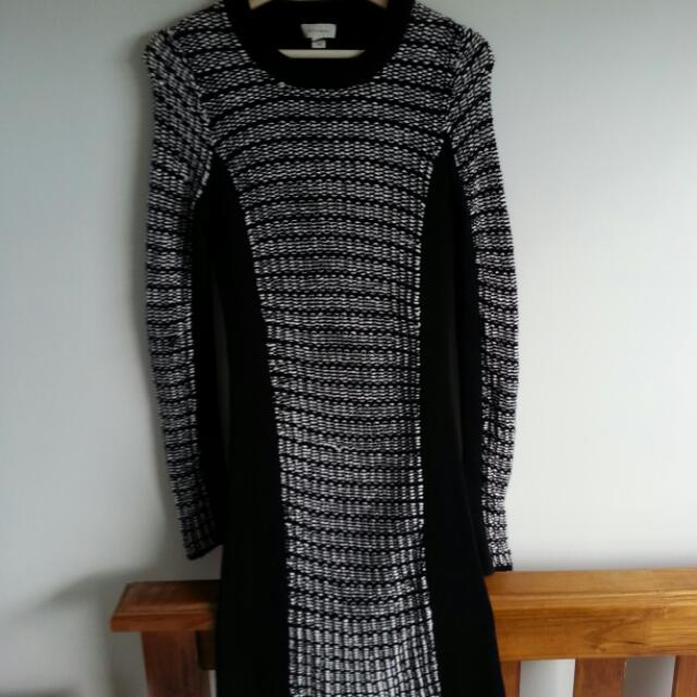 Witchery Knitted Dress Size 10
