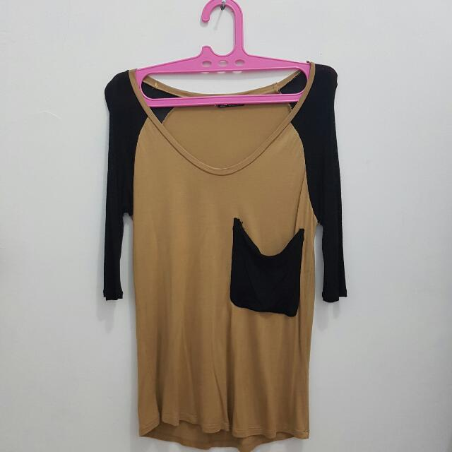 Zara Overlose Top