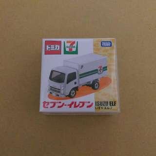 Tomica 7-11 便利商店 貨車 日本限定