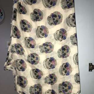 Skull Scarf from Pull and Bear