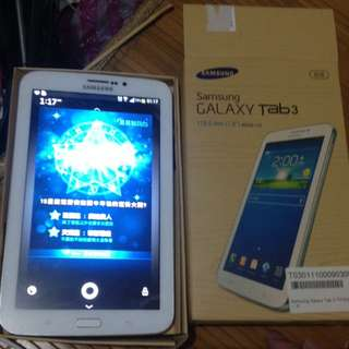 Samsung  Tab3 通話平版